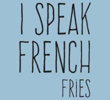 I Speak French Kids Tee