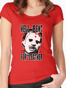 Hell Bent For Leatherface Women's Fitted Scoop T-Shirt