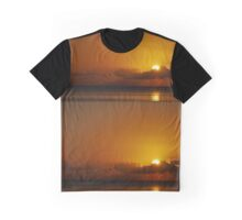 October Sunset Graphic T-Shirt