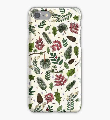 Leaves Pattern iPhone Case/Skin