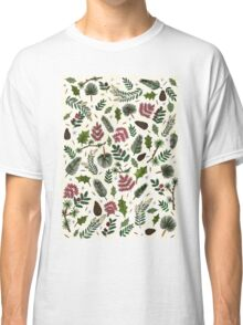 Leaves Pattern Classic T-Shirt