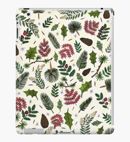 Leaves Pattern iPad Case/Skin