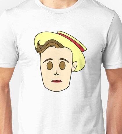 Buster Keaton (Now in Amazing Extra Color!) Unisex T-Shirt
