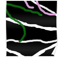 Decorative abstract design by Mma Poster