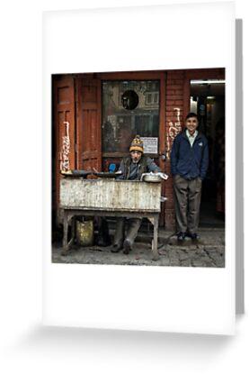 The Food Vendor  by Michiel de Lange