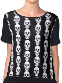 Bones V Chiffon Top