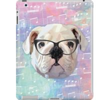 Singing Bulldog iPad Case/Skin