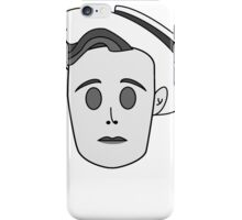 Buster Keaton in Classic Black & White iPhone Case/Skin