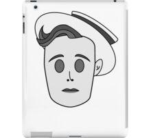 Buster Keaton in Classic Black & White iPad Case/Skin