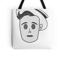 Buster Keaton in Classic Black & White Tote Bag