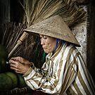 The Broom Vendor  by Michiel de Lange