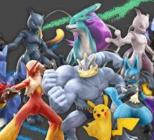 Pokken Tournament - Fighters Sticker
