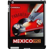 """MEXICO VINTAGE GRAND PRIX"" Auto Racing Print iPad Case/Skin"