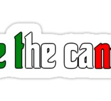Take the Cannoli (updated) Sticker