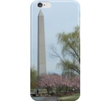 Constitution Gardens and Washington Monument  iPhone Case/Skin