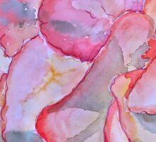 Peachy begonia Sticker