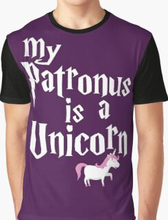 My Patronus Is A Unicorn T Shirt Graphic T-Shirt