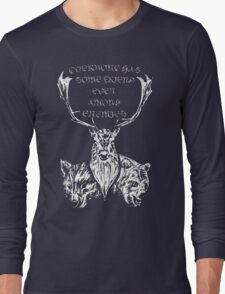 Among Enemies Long Sleeve T-Shirt