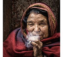 The Smoker Photographic Print