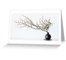 Vase With Branch Greeting Card