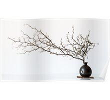 Vase With Branch Poster