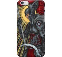 red reaper iPhone Case/Skin