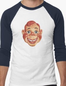 It's Howdy Doody Time! Men's Baseball ¾ T-Shirt