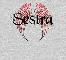 Sestra - Red Womens Fitted T-Shirt