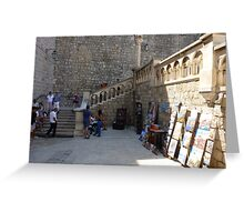 Dubrovnik Entry Greeting Card