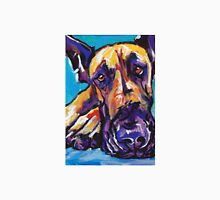 Great Dane Dog Bright colorful pop dog art Unisex T-Shirt