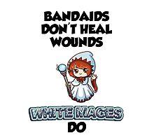 Bandaids are useless Photographic Print