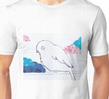 little bird in the clouds Unisex T-Shirt