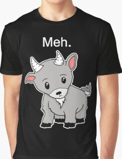 Meh. - Goat of indifference  Graphic T-Shirt