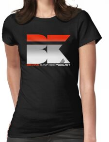 Beyond Kayfabe Podcast - Red Womens Fitted T-Shirt