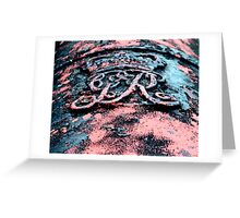 Royal Cannons Greeting Card