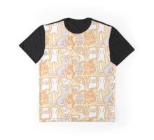 Cat Frenzy Graphic T-Shirt
