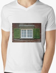 Shutters open - Curtains closed Mens V-Neck T-Shirt