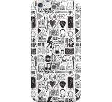 Music Doodles iPhone Case/Skin