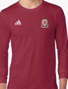 WALES Dream Team EURO 2016 Long Sleeve T-Shirt