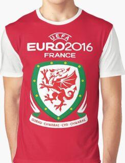WALES Dream Team EURO 2016 Graphic T-Shirt