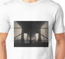Under the Old Sakonnet River Bridge Toned Unisex T-Shirt