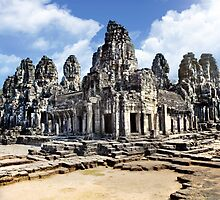 Angkor Wat Temples in Cambodia, Malaysia by Ben  Cadwallader