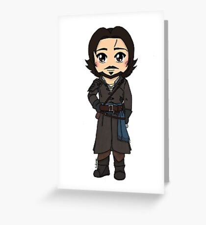 Aramis Season 1 - The Musketeers Greeting Card