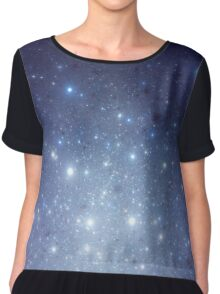 Stars freezing to standstill Chiffon Top