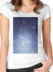 Stars freezing to standstill Women's Fitted Scoop T-Shirt