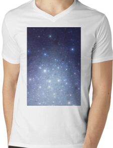 Stars freezing to standstill Mens V-Neck T-Shirt