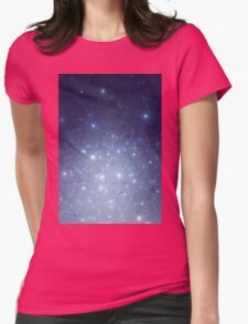 Stars freezing to standstill Womens Fitted T-Shirt