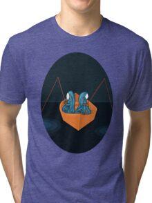 2 in a boat Tri-blend T-Shirt
