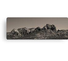 Sedona Arizona Panorama II Toned Canvas Print
