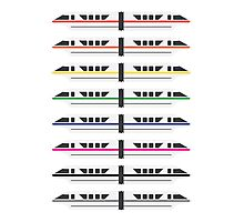 Monorails Photographic Print